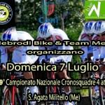 Ciclismo Acsi: Sant'Agata di Militello, domenica 7 si corre la cronosquadre