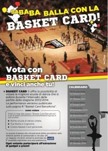 locandina basket card