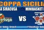 Basket C2 Sicilia, Coppa Sicilia: Sabato 28 Dicembre, Minibasket Milazzo-Aretusa Siracusa