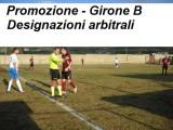 Calcio Promozione Sicilia, girone B: Designazioni arbitrali 16^ giornata