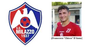 """Calcio Eccellenza Sicilia, girone B: """"Chicco"""" D'Anna nel Milazzo"""