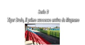 Calcio Serie D, girone I: Risultati della 2^ giornata