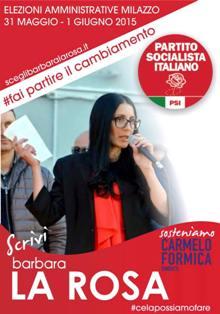 Barbara La Rosa ( Socilista)