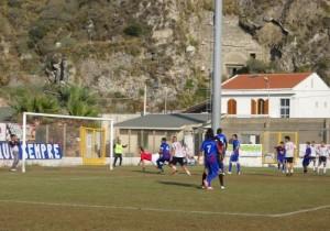 Milazzo-Scordia 5 (gol di Frisenda)