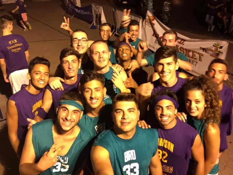 Selfie notturno Torneo 3 vs 3