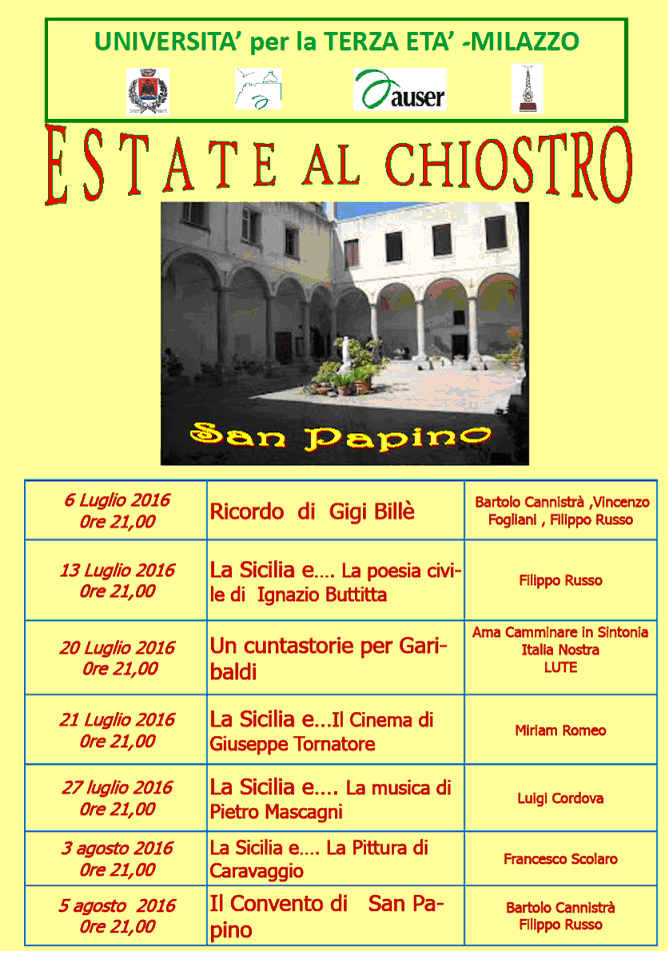 Estate al Chiostro