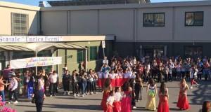 San Filippo del Mela: Saggio di fine anno alla scuola media statale Enrico Fermi