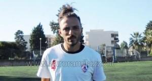 Calcio: Il Milazzo conferma Simone D'Arrigo, vicino a 100 presenze in maglia rossoblu