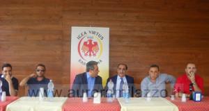 Calcio Serie D: Igea Virtus, il video della conferenza stampa di presentazione della nuova stagione calcistica