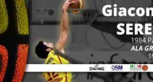 Giacomo Sereni torna al Basket Barcellona, ingaggiato Fabio Stefanini