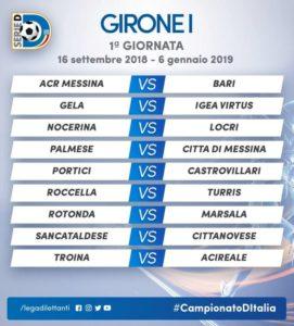 Bari Calcio Calendario.Serie D Calendario Girone I Al Via Domenica 16 9 18